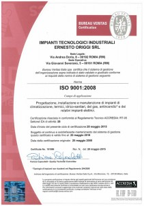 certificato ISO 2015-2018-1